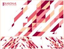Moderne diagonale abstracte achtergrond vector illustratie