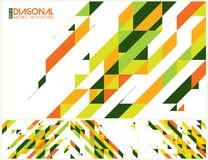 Moderne diagonale abstracte achtergrond stock illustratie