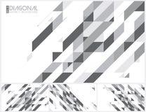 Moderne diagonale abstracte achtergrond royalty-vrije illustratie