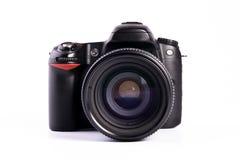 Moderne digitale Camera SLR royalty-vrije stock afbeeldingen