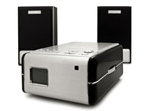 Moderne digitale CDspeler Royalty-vrije Stock Fotografie