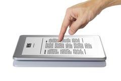 Moderne digitale tabletPC. Stock Afbeeldingen