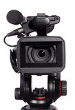 Moderne digitale videocamera stock foto's
