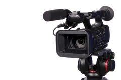 Moderne digitale videocamera stock fotografie