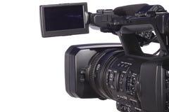 Moderne digitale Videokamera Lizenzfreie Stockfotos