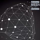 Moderne Digitaltechnikart, abstrakter Hintergrund Lizenzfreie Stockfotografie
