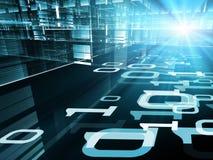 Moderne Digitaltechniken Stockbild
