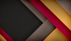 Moderne donkere achtergrond Royalty-vrije Stock Fotografie