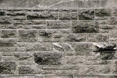 Moderne donkere grijze van de steenmuur textuur als achtergrond Stock Fotografie