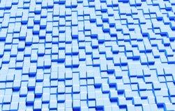 Moderne dreidimensionale Würfel masern Hintergrund, Wiedergabe 3D Lizenzfreies Stockbild