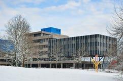 Moderne Duitse stad Stock Afbeeldingen
