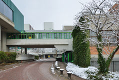 Moderne Duitse stad Royalty-vrije Stock Fotografie