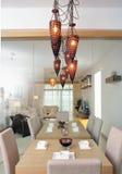 Moderne eetkamer Royalty-vrije Stock Fotografie