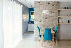Moderne eetkamer Stock Fotografie