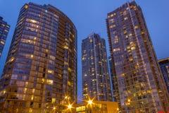 Moderne Eigentumswohnungen Stockfoto