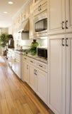 Moderne elegante Küche stockbild