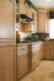 Moderne elegante Küche Stockfotografie