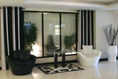 Moderne elegante ruimte stock afbeeldingen