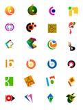 Moderne emblemen Royalty-vrije Stock Afbeelding