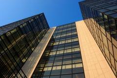 Moderne en glasarchitectuur Stock Foto's