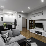 Moderne en modieuze flat royalty-vrije stock foto's