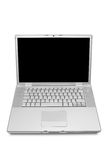 Moderne en modieuze laptop Stock Foto