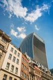 Moderne en oude architectuur van Londen Stock Fotografie