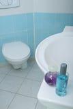 Moderne en schone badkamers Royalty-vrije Stock Afbeeldingen