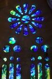 moderne en verre souillé Image libre de droits