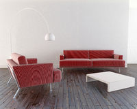 Moderne et minimal Image stock