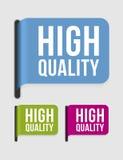 Moderne etiketâ uitstekende kwaliteit Royalty-vrije Stock Afbeeldingen