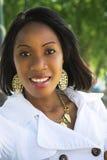 Moderne etnische vrouw Stock Foto