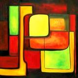 Moderne Farben zeitgenössisch Lizenzfreie Stockbilder