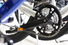 Moderne fiets stock foto