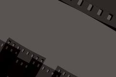 Moderne filmachtergrond Stock Fotografie