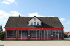Moderne Firestation Stock Foto's