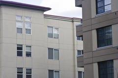 Moderne flat en flat in Bellevue Washi stock fotografie