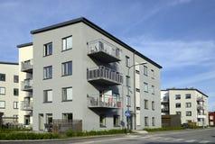 Moderne flatgebouwen Royalty-vrije Stock Foto's