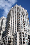 Moderne flatgebouwen Royalty-vrije Stock Fotografie