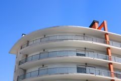 Moderne flats Stock Foto