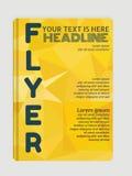 Moderne Flieger, Broschüren Abstrakte Hintergründe, online Lizenzfreie Stockbilder