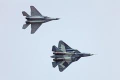 Moderne Flugzeuge Stockbild