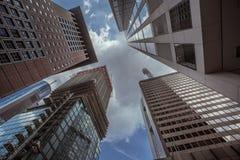 Moderne Frankfurt-Gebäude Lizenzfreie Stockbilder