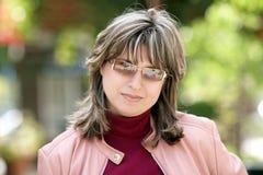 Moderne Frau lizenzfreie stockfotos