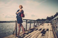 Moderne Frau Lizenzfreies Stockfoto