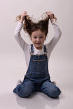Moderne Frisur Lizenzfreie Stockbilder
