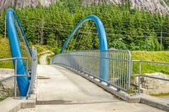 Moderne Fußgängerbrücke Lizenzfreie Stockbilder