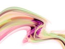 Moderne futuristische achtergrond met abstracte golven stock illustratie