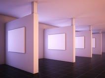 Moderne Galerie von Art. Stockfoto