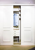 Garderobe Stockfotografie
